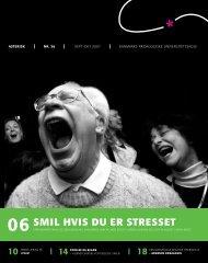 06 smil hvis du er stresset - Institut for Uddannelse og Pædagogik ...