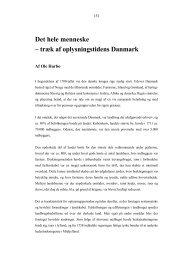 Det hele menneske - træk af oplysningstidens Danmark - it-lab