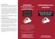 Brochure til behandlingscentret