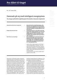 Nr. 214: Danmark på vej mod intelligent energisystem - Teknologirådet