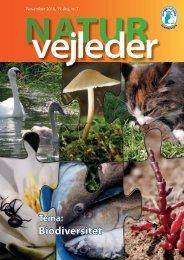 Biodiversitet - Naturvejlederforeningen i Danmark