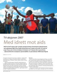 Med idrett mot aids