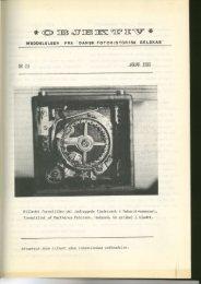 Objektiv nummer 19 1980 - Dansk Fotohistorisk Selskab