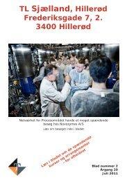 Blad nr. 2 - 2011 - august 2011 - indhold - Teknisk Landsforbund