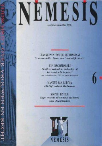 NEMESIS 9 (1993) nummer 6 november/december
