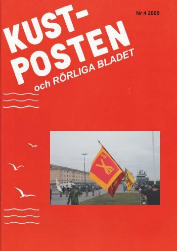 Kustposten nr 4 2009 - Ka2 kamratförening