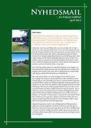 Nyhedsmail - Esbjerg Golfklub