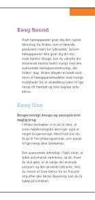 Det nemme valg easy listening - Widex - Page 4