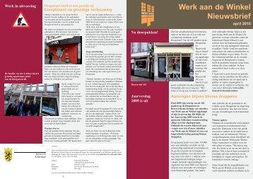 Werk aan de Winkel Hoogstraat heeft er een - Gemeente Schiedam