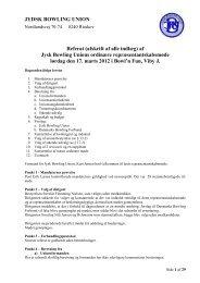 Tryk Her - Jydsk Bowling Union