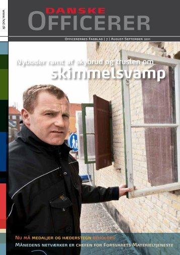 skimmelsvamp - Hovedorganisationen af Officerer i Danmark
