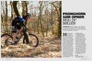"""PRONGHORN GøR OPRøR mOD 29"""" BøLgEN - Pronghorn Racing"""