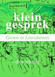 Verslag 26 februari - Wijkberaad Nieuw Waldeck