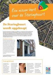 De Staringbuurt wordt opgeknapt - Woonstad Rotterdam