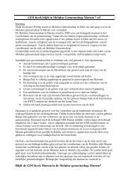 Plan van aanpak - GIM Marum