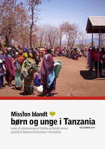 Dec 2011 - Mission Tanzania