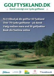 Download brochure om GolfTyskland her - GolfTyskland.dk