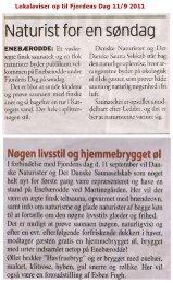 Fjordens Dag - Danske Naturister