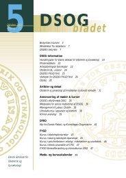 Nr. 5 - 17. oktober 2001 - DSOG