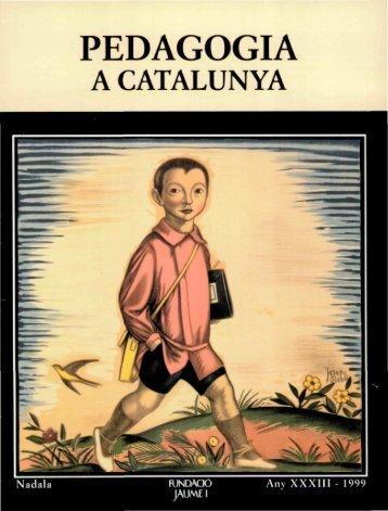 Nadala_1999_Pedagogia a Catalunya - Fundació Lluís Carulla