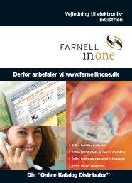 Online introduceres de nyeste produkter - Farnell Danmark