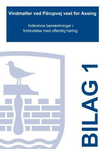 Bilag 1 - T21 - Indkomne bemærkninger - Herning Kommune
