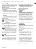EURORACK UB2442FX-PRO/UB2222FX-PRO ... - Behringer - Page 5
