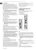 EURORACK UB2442FX-PRO/UB2222FX-PRO ... - Behringer - Page 6