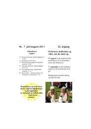 S-Posten juli 2011 - Socialdemokraterne Albertslund