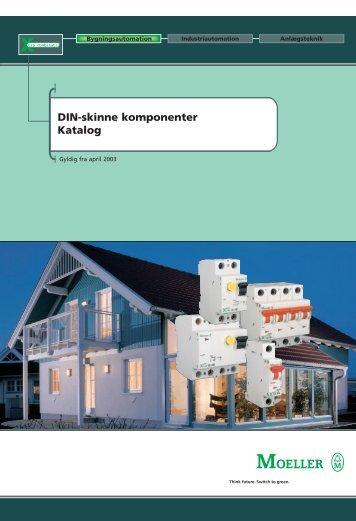 DIN-skinne komponenter Katalog