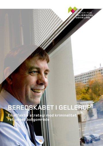 BEREDSKABET I GELLERUP - Center for boligsocial udvikling