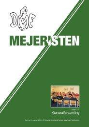 Mejeristen 1 2010 - Danske Mejeristers Fagforening