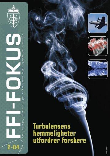 Nr. 2: Turbulensens hemmeligheter utfordrer forskere - Forsvarets ...