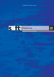 SFT-rapport 2088/2005