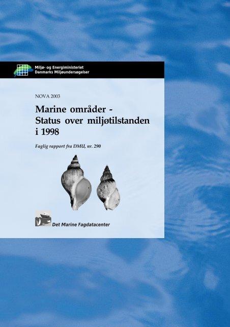 Marine områder - Status over miljøtilstanden i 1998 - Faglig rapport ...