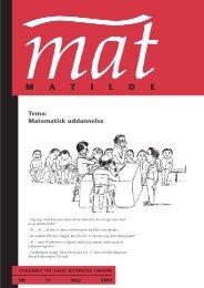 – MAT ombr28 - Matilde - Dansk Matematisk Forening