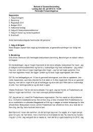 Referat af Generalforsamling Lørdag den 28. juli 2012 kl. 10.00 ...