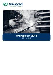 Varodds årsrapport for 2011