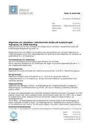 Afgørelsen kan hentes her som PDF (0,6MB). - Esbjerg Kommune