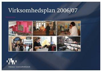 Virksomhedsplan 2006 - Odense Centralbibliotek