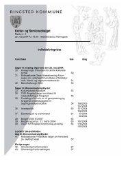 Kultur- og Serviceudvalget - Ringsted Kommune
