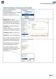 Send beskeder til elevernes forside - Elevplan (vejledning)