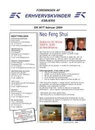 Neo Feng Shui - Foreningen af Erhvervskvinder