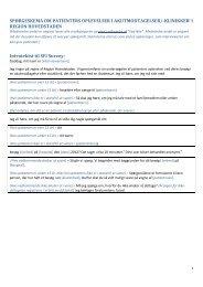 Spørgeskema - Enheden for Brugerundersøgelser