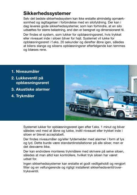 Omtanke Fra tankbil til silo - Aalborg Portland
