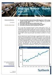 Emerging Markets - 06 juli 2012 - Sydinvest