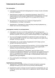 Fakta om undersøgelsen - Kost & Ernæringsforbundet