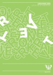 uddannelsen ledelse af kreative - Danish Design Association