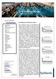 Kreditobligationer - Sydbank Markets