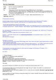 Per A.K. Frederiksen Page 1 of 2 Message 29-06-2006